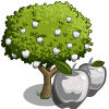 farmville white apple tree
