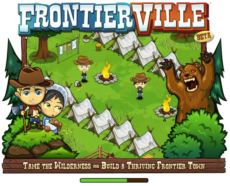 frontierville loading screen