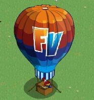 FarmVille hot air balloon