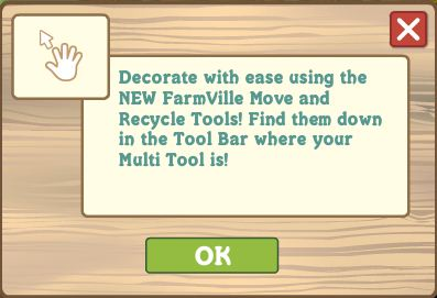 FarmVille Move Tool and Recycle Tool
