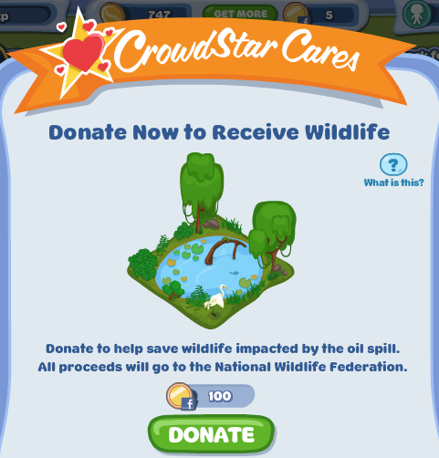 CrowdStar Cares Hello City Wildlife Habitat