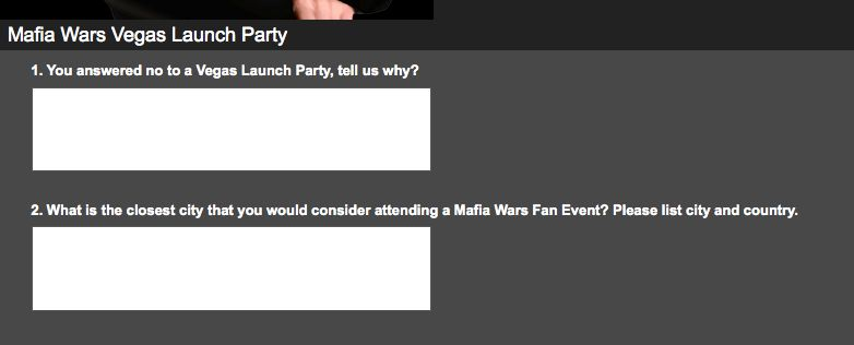 mafia wars las vegas launch party no