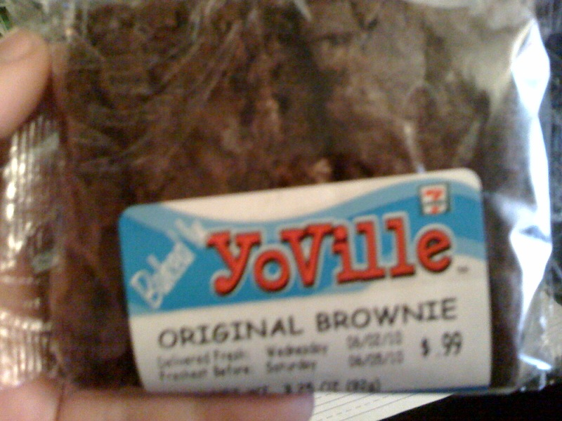 YoVille 7-Eleven Brownie