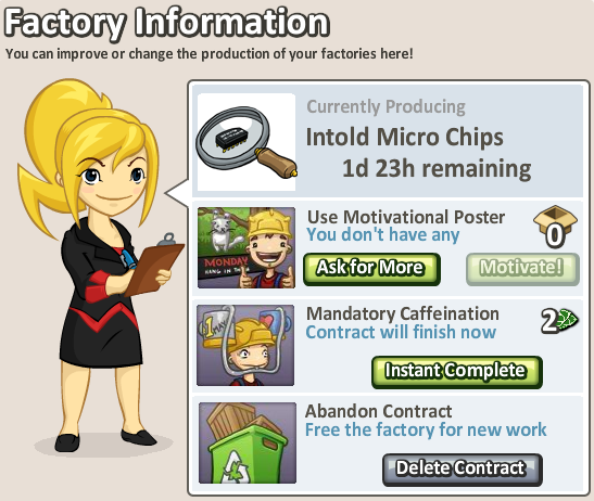 Social City Factory Information Instant Caffeination more expensive