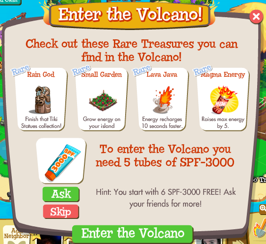 Treasure Isle: Enter the Volcano