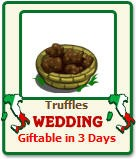 truffles wedding