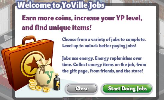 Welcome to YoVille Jobs