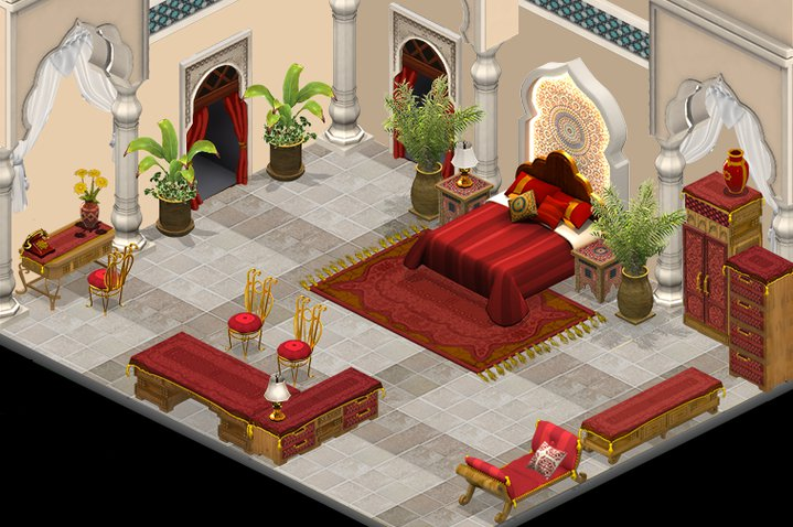 Moroccan Bedroom Furniture ~ Yoville moroccan bedroom furniture now in stock aol news