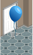 yoville free blue balloon