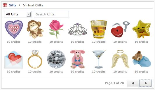 facebook virtual gift shop closes August 1