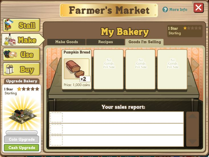 farmville bakery goods for sale