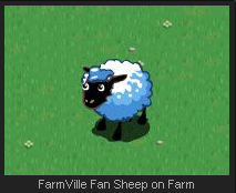 FarmVille Fan Sheep on Farm