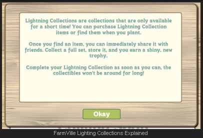 FarmVille Explains Lightning Collections