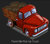 FarmVille Pick Up Truck Seeder