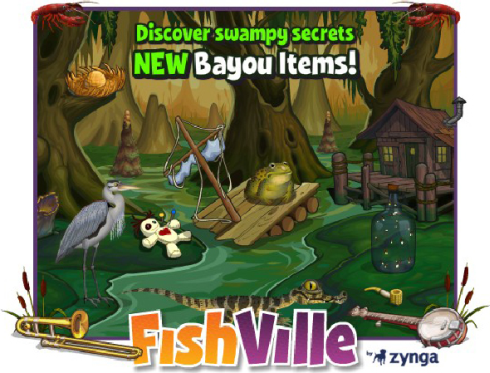 FishVille Bayou Country Items