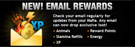 mafia wars email returns