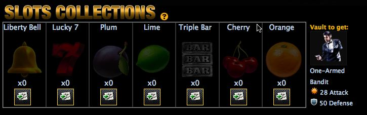mafia wars slots collection