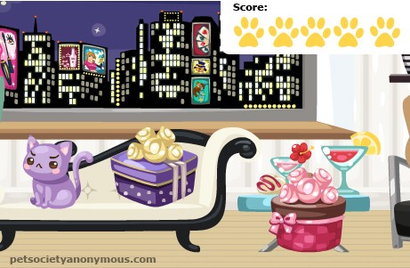 Pet Society Chocolate Box