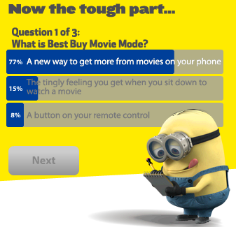 PetVille Best Buy Movie Mode - Question 1