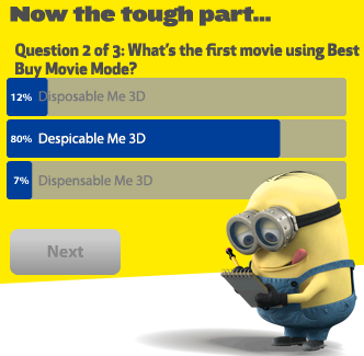 PetVille Best Buy Movie Mode - Question 2