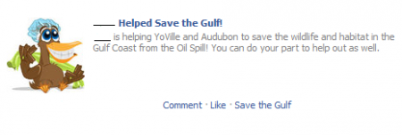 YoVille Help Save the Gulf