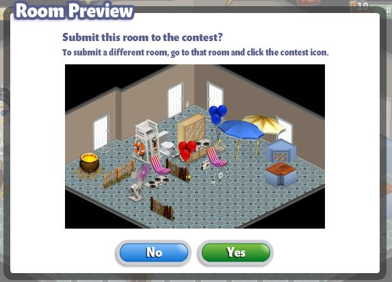YoVille Room Preview