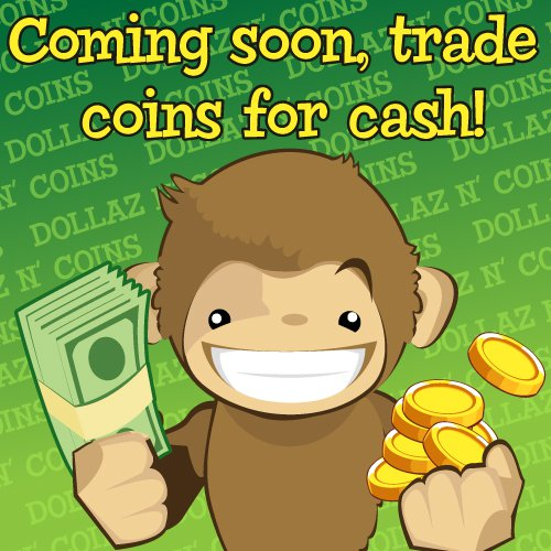 Treasure Isle coins for cash