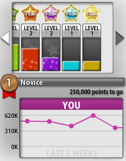 Bejeweled Blitz 600k novice