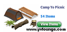 yoville camp yo picnic items