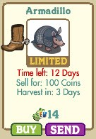 farmville armadillo