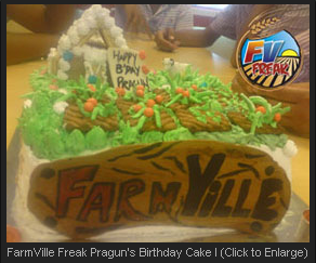 FarmVille Freak Pragun's Birthday Cake I
