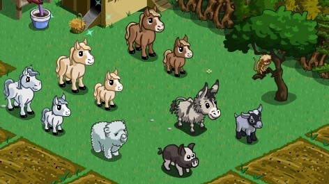 farmville miniature horses