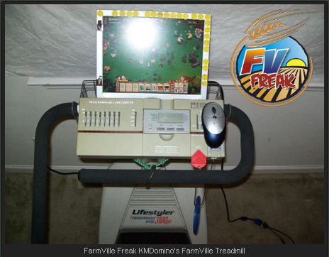 FarmVille Freak KMDomino's FarmVille Treadmill