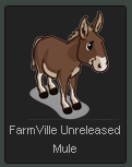 FarmVille Unreleased Mule