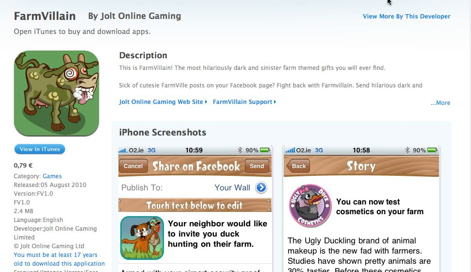farmvilllian itunes store