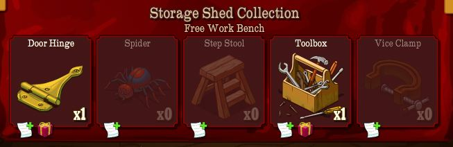 storage shed collection