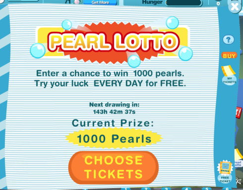 Happy Aquarium Pearl Lotto