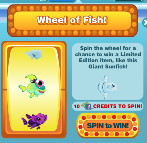 Happy Aquarium Wheel of Fish