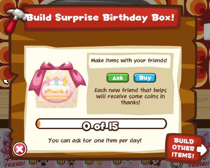 pet society birthday box