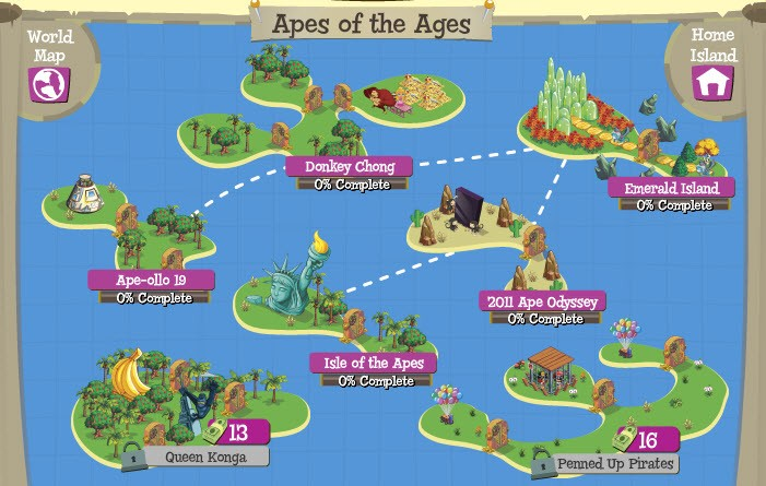 treasure isle apes of the ages