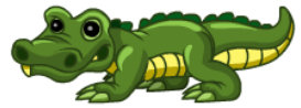 YoVille Audubon Alligator