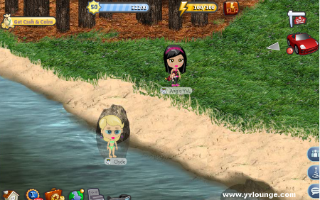 YoVille Campground Lake