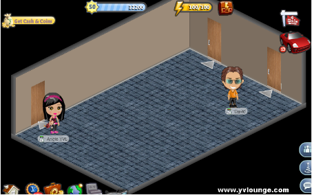 YoVille Campground Living Room