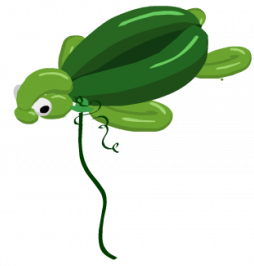 YoVille Turtle Balloon