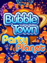 Bubble Town: Party Planet Logo