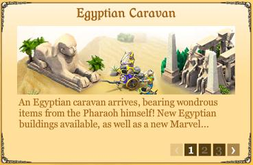 City of Wonder Egyptian Caravan