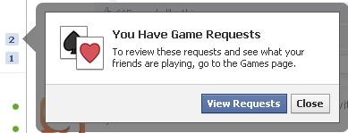 Facebook Game Requests