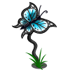 farmville butterfly stick