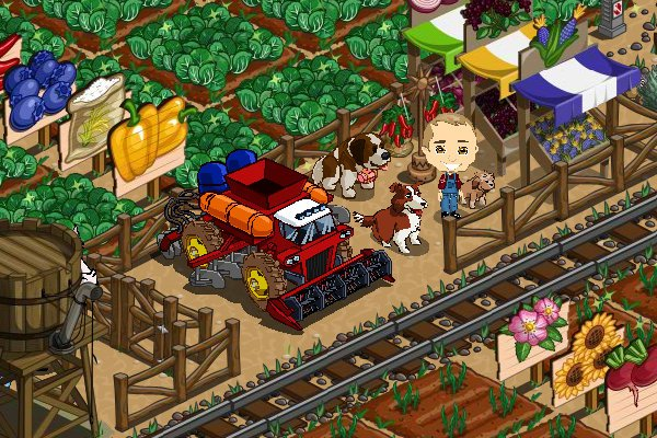 farmville combine vehicle completed