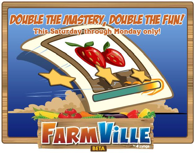 farmville double mastery